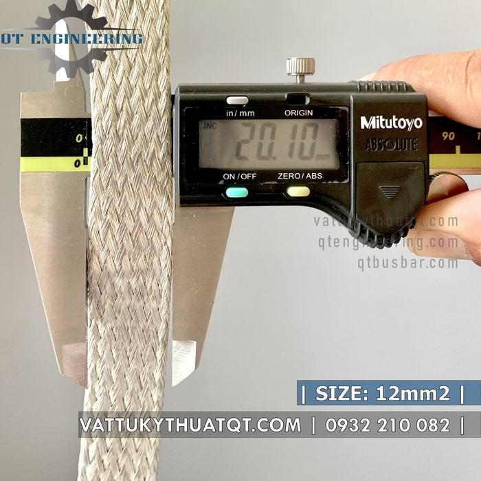 dây đồng bện mạ thiếc 12mm2