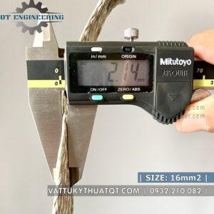 dây đồng bện mạ thiếc 16mm2