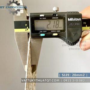 dây đồng bện mạ thiếc 20mm2