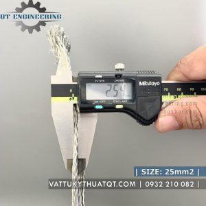 dây đồng bện mạ thiếc 25mm2