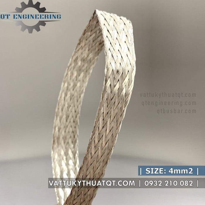 dây đồng bện mạ thiếc 4mm2