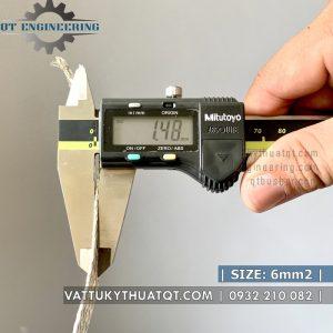 dây đồng bện mạ thiếc 6mm2