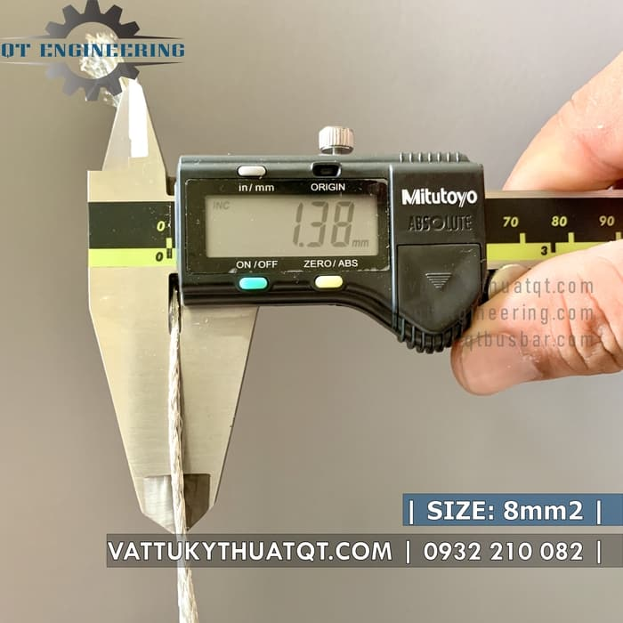 dây đồng bện mạ thiếc 8mm2