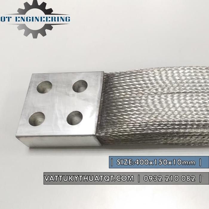 Thanh nối đồng mềm 400x150x10mm