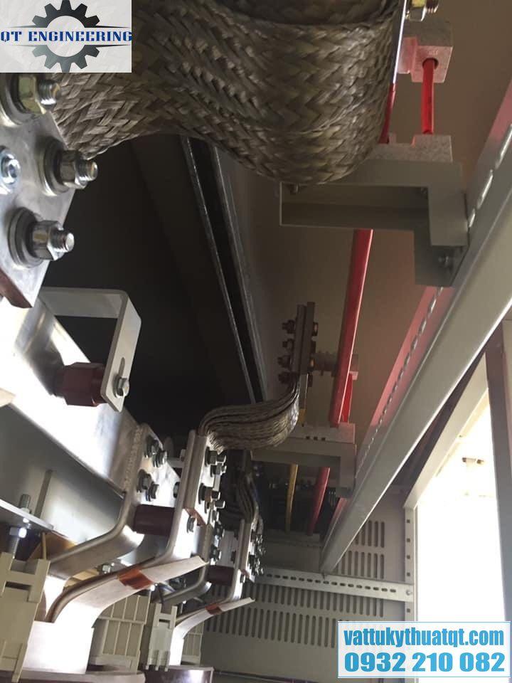 Thanh nối đồng mềm 400x185x10mm