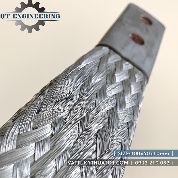 Thanh nối đồng mềm 400x50x10mm