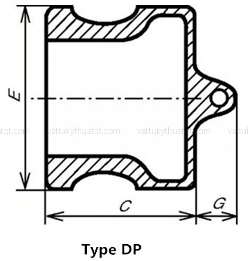 khớp nối nhanh camlock inox kiểu DP