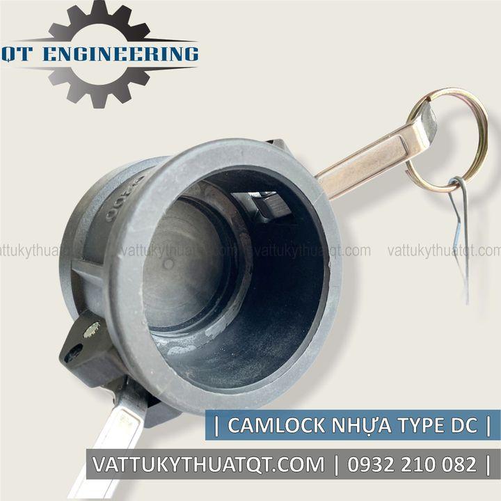 khớp nối nhanh camlock bằng nhựa kiểu DC