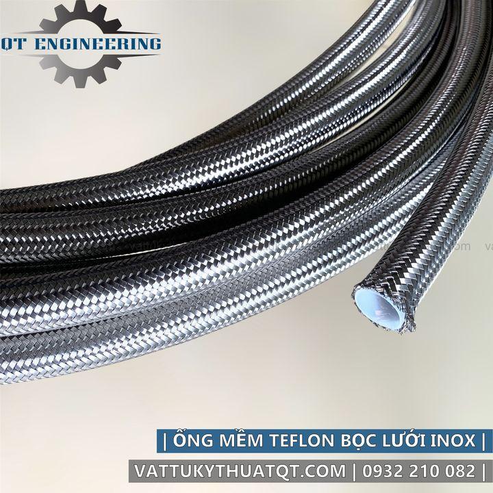 ống teflon bọc lưới inox 304