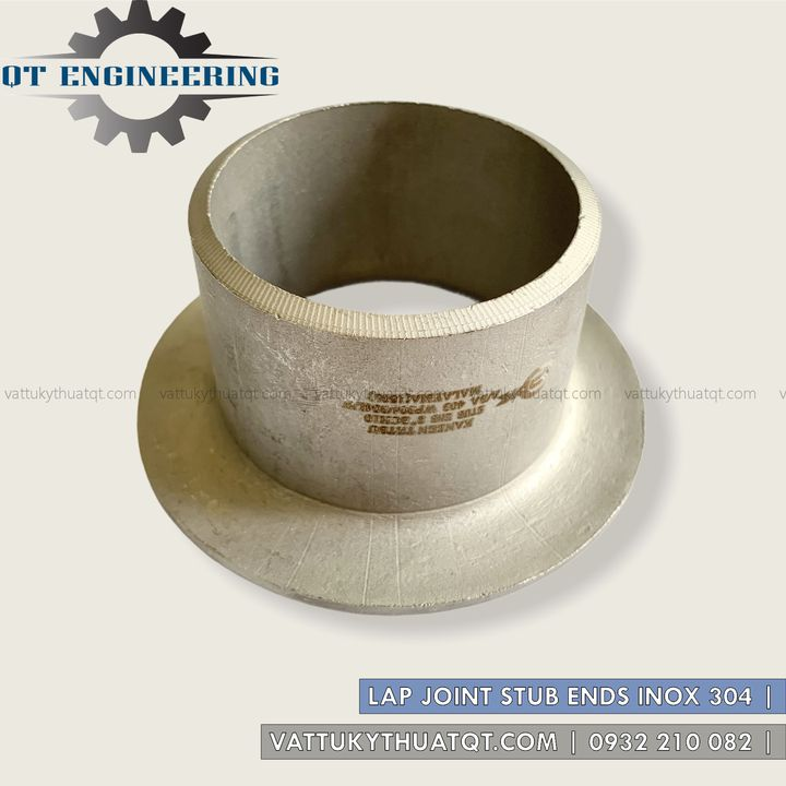 lap joint stub ends inox 304